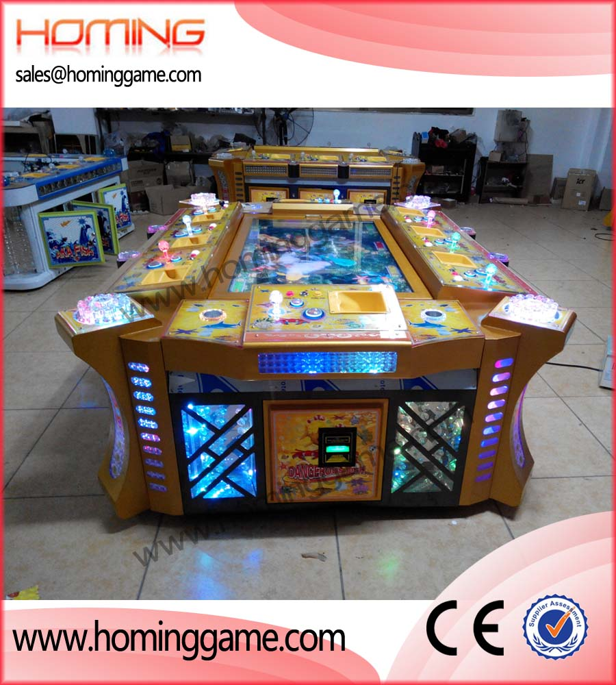 Dangerous fishing game machine 2014 hot sale fishing game for Tiger strike fish game cheats