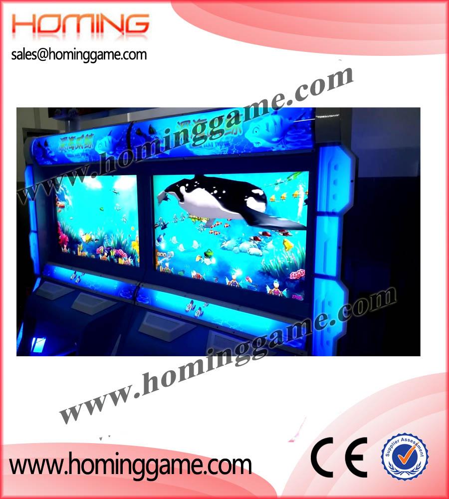 2016 best usa real 3d graphic good profits casino machine for Fish game machine