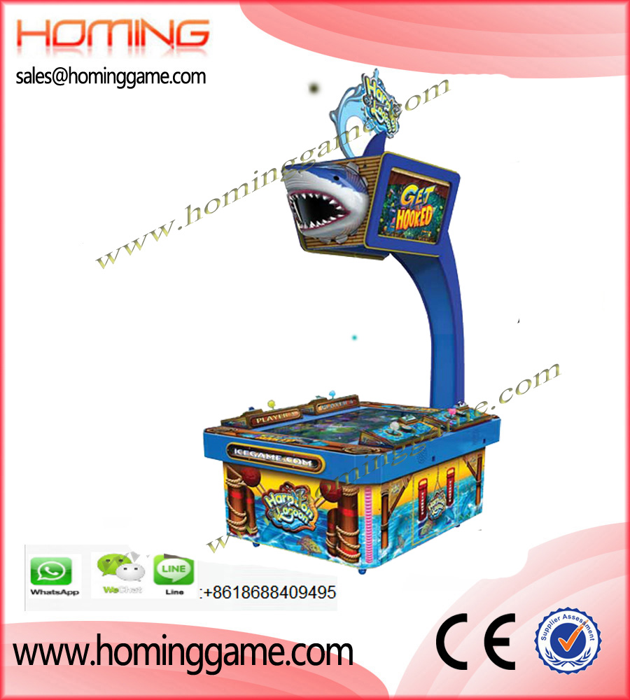 Harpoon Lagoon Deluxe Kids Fishing Table Ticket Game Machine,Harpoon Lagoon,Harpoon Lagoon Arcade Game Machine,Harpoon Lagoon Deluxe Arcade Game|Arcade Redemption Games,Redemption Game,Kids Game Machine,Kids Arcade Game Machine,Redemption Ticket Game Machine,Game Machine,Arcade Game Machine,Coin Operated Game Machine,Amusement Park Game Machine,Indoor Game Machine,Family Entertainment,Family Entertainment Game