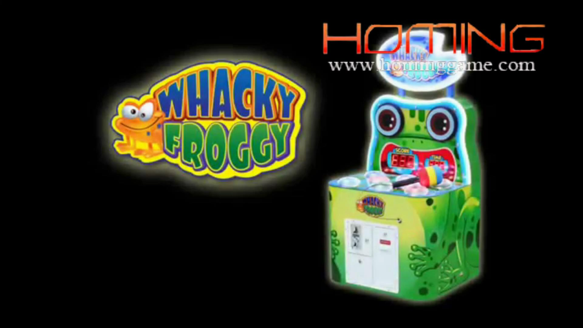 Whacky Frogggy Hit Hammer Arcade Redemption Game Machine,whacky froggy game,whacky froggy,whacky froggy redemption game,hit frog game machine,hammer arcade game,hit hammer arcade game machine,game machine,arcade game machine,coin operated game machine,amusement park game machine,indoor game machine,slot game machine,kids game machine,entertainment game machine,slot machine