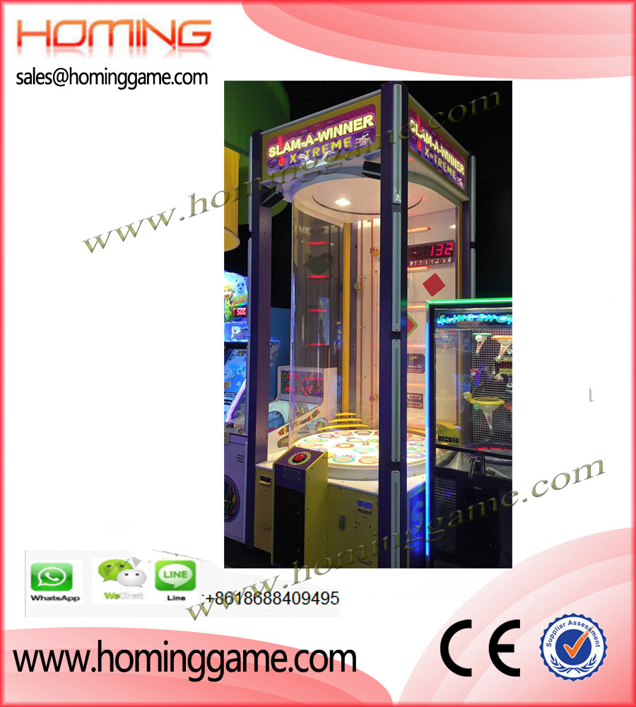 Slam A Winner Extreme Redemption Ticket Game Machine,Family Entertainment,Slam A Winner Extreme,Slam A Winner Extreme Game Machine,Super Ball Game Machine,Kids Redemption Ticket Game Machine,Redemption Ticket Game Machine,Family Game Machine,Family Entertainment Game Machine,Enetertainment Game Machine,Game Machine,Arcade Game Machine,Coin Operated Game Machine,Amusement Park Game Equipment