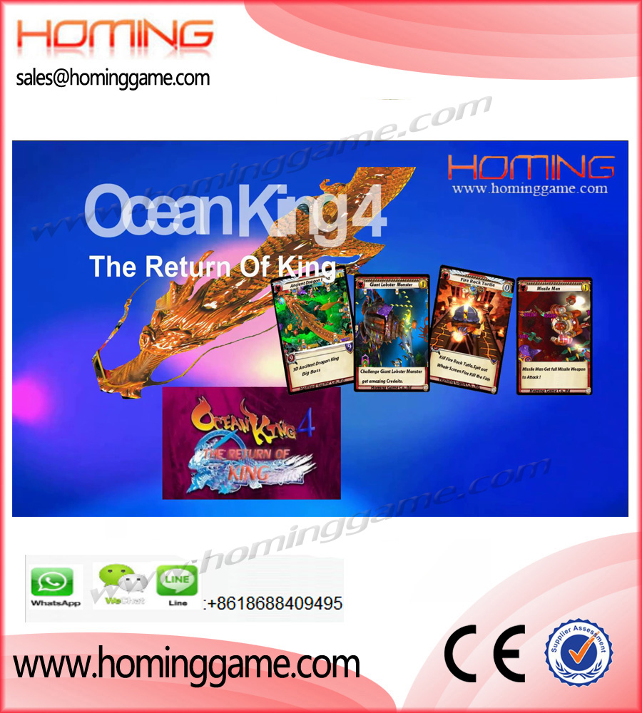 Ocean King 4 The Return Of King Fishing Game Machine,Dragon King Lobster Revenge Fishing Game,Ocean King 4 Fishing Game Machine,Ocean King 4,The Return Of King Fishing Game Machine,Dragon King Fishing Game Machine,Treasure King Fishing Game Macihne,Ocean Monster Fishing game machine,Ocean Star Fishing Game Machine,Ocean King 3 fishing table game machine,Ocean king 3 turtle revenge fishing game machine,ocean king 3 monster awaken fishing game machine, ocean king 3 dragon mania fishing game machine,fish hunter fishing game machine,game machine,arcade game machine,coin operated game machine,amusement park game machine,indoor game machine,slot game machine,gaming machine| entertainment game machine,casino gaming machine,gambling machine