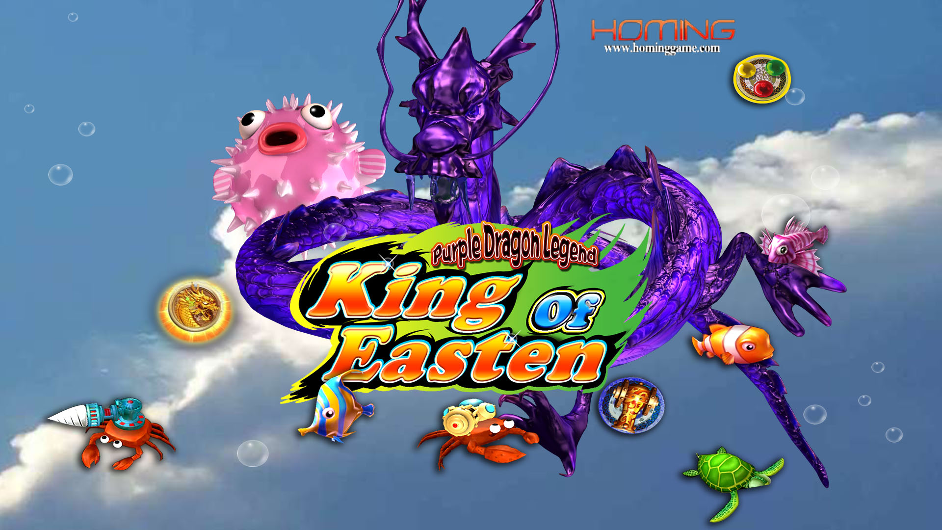 Purple Dragon Fishing Game Purple Dragon Legend Fishing