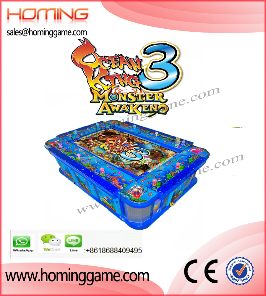 IGS Ocean King 3 Monster Awaken Fishing Table Game Machine,Ocean king 3,Ocean King 3 fishing game machine,Monster Awaken Fishing Game machine,Ocean Monster Fishing Game machine,IGS Fishing Game Machine,Fish hunter fishing game machine,Dragon King Fishing Game Machine,Ocean King Fishing Game Machine,Purple Dragon Fishing Game machine,Turle Revenge Fishing Game Machine,Dragon Mania Fishing Game Machine,Game Machine,Arcade Game Machine,Coin Operated Game Machine,Gaming Machine,Fish Table Game Machine,Enetertainment Game Machine,Gambling Machine